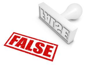 ¿Existen las denuncias falsas?